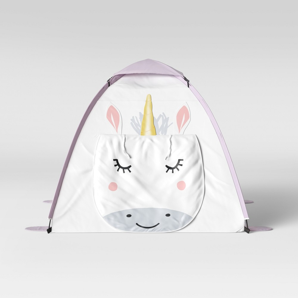 Image of Unicorn Play Tent White - Pillowfort