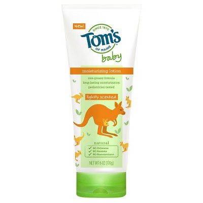 Tom's of Maine 6 oz Baby Lotion