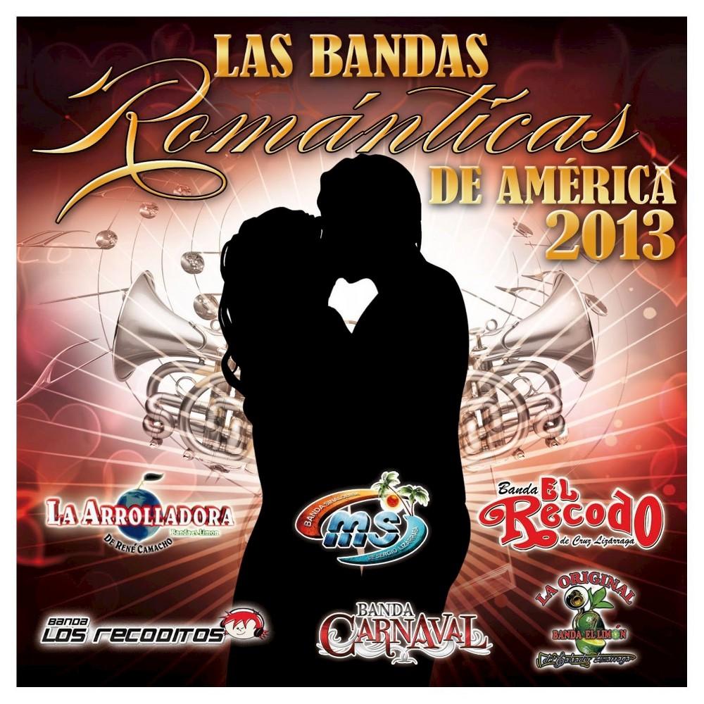 Various Artists - Bandas Romanticas 2017