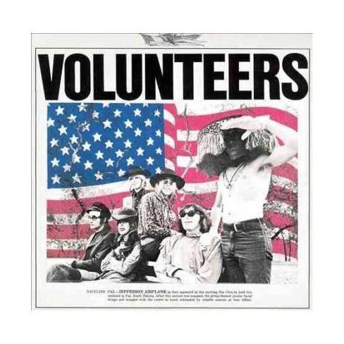 Jefferson AirplaneJefferson AirplaneJefferson Airplane - VolunteersVolunteersVolunteers (Vinyl) - image 1 of 1