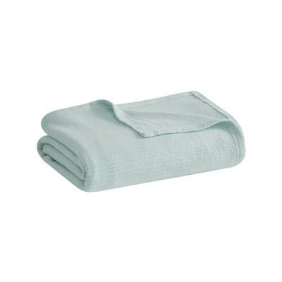 Freshspun Basketweave Cotton Blanket
