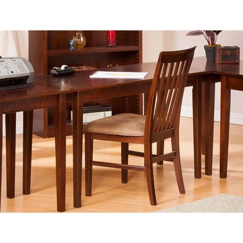 Writing Desk Shaker Style Walnut Atlantic Furniture Target