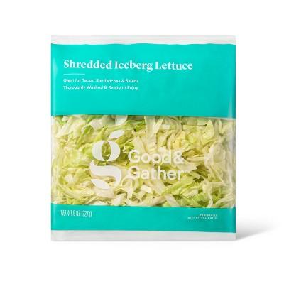 Shredded Iceberg Lettuce - 8oz - Good & Gather™