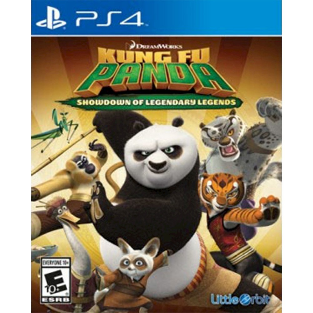 Kung Fu Panda Showdown of Legendary Legends PlayStation 4