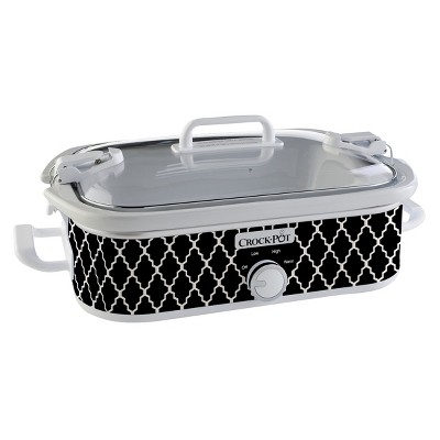 Crock-Pot® 3.5 Qt. Casserole Crock Slow Cooker - Black SCCPCCM650