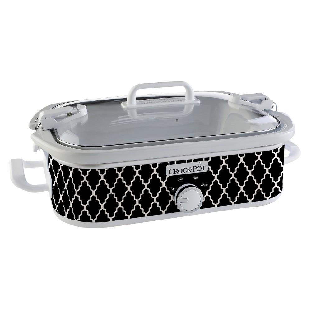 Crock-Pot 3.5 Qt. Casserole Crock Slow Cooker – Black SCCPCCM650 15712287