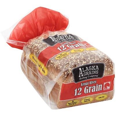 Alaska Grains Kenai River 12 Grain Bread - 24oz