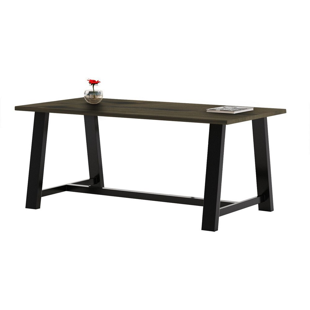 Image of Midtown Multipurpose Table Barnwood Brown - KFI Seating