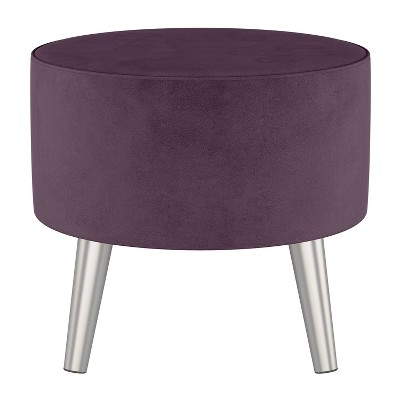 Riverplace Ottoman with Splayed Velvet - Project 62™