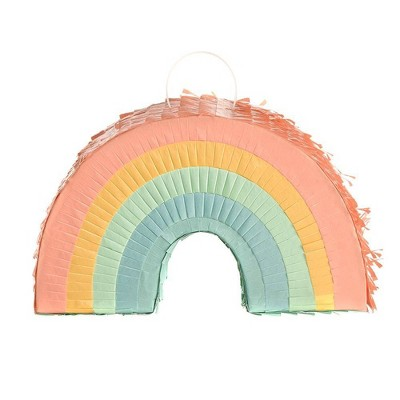 "7.5"" Rainbow Mini Piñata Party Decoration - Spritz™"