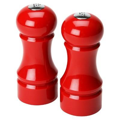 Olde Thompson Salt & Pepper Set - Red