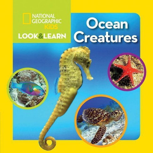 National Geographic Kids Look and Learn: Ocean Creatures - (Look & Learn) (Board_book) - image 1 of 1