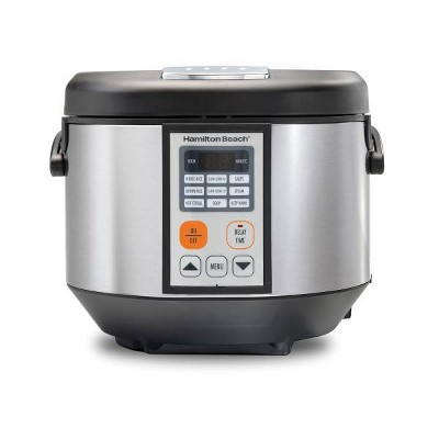 Hamilton Beach Digital Electric Multicooker - Black