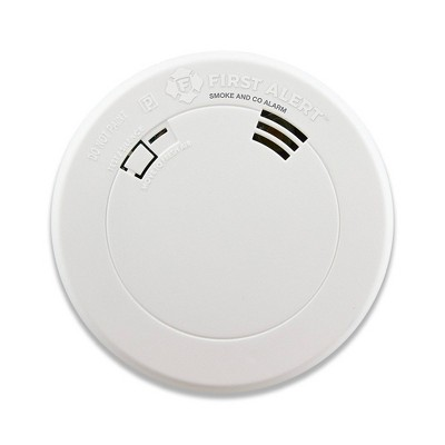 First Alert PRC710V Slim Smoke & Carbon Monoxide Detector with Voice Location and Photoelectric Sensor