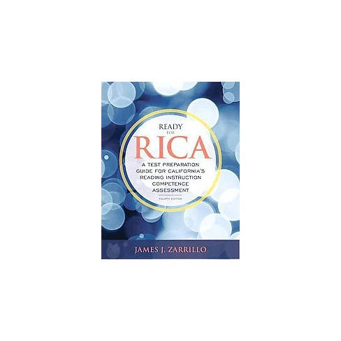 Ready For Rica A Test Preparation Guide For Californias Reading