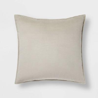 Cotton Velvet Square Pillow - Threshold™