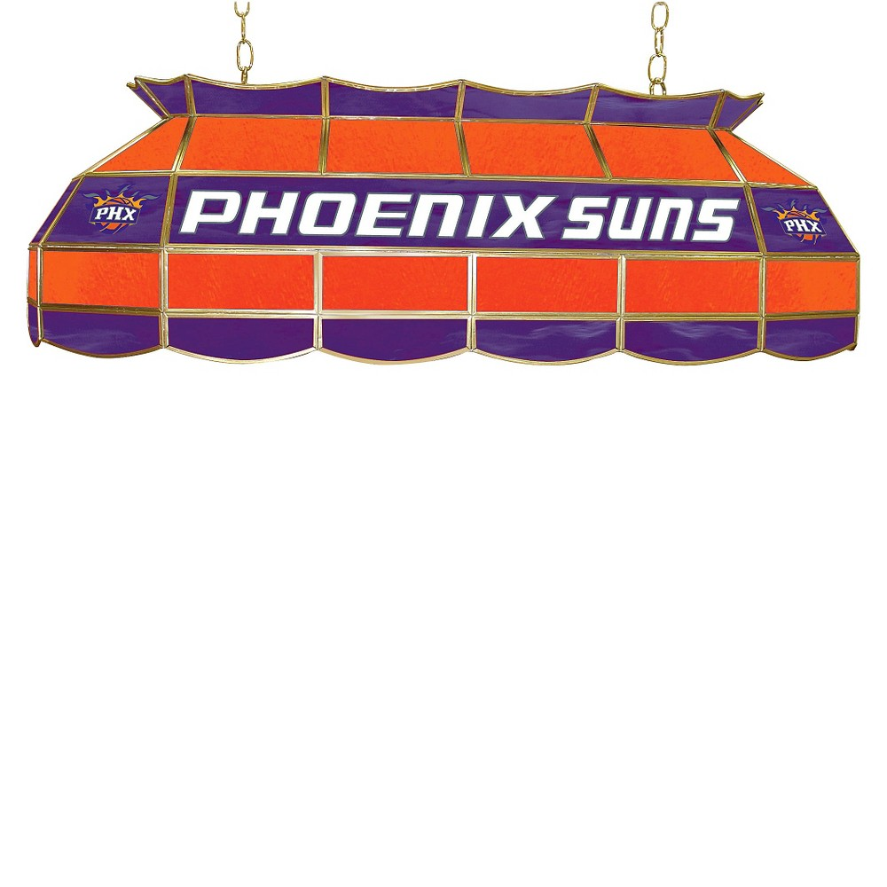 Phoenix Suns Tiffany Style Lamp - 40 inch