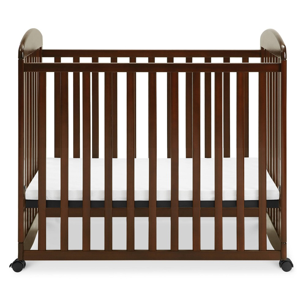Image of DaVinci Alpha Mini Rocking Crib - Espresso