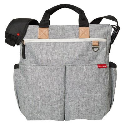 Skip Hop Duo Signature Diaper Bag - Gray
