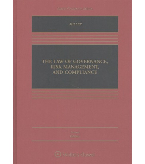Law of Governance, Risk Management, and Compliance (Hardcover) (Geoffrey Parsons Miller) - image 1 of 1