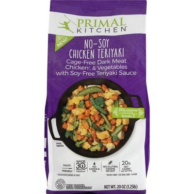 Primal Kitchen Gluten Free Frozen Chicken Teriyaki Skillet - 20oz