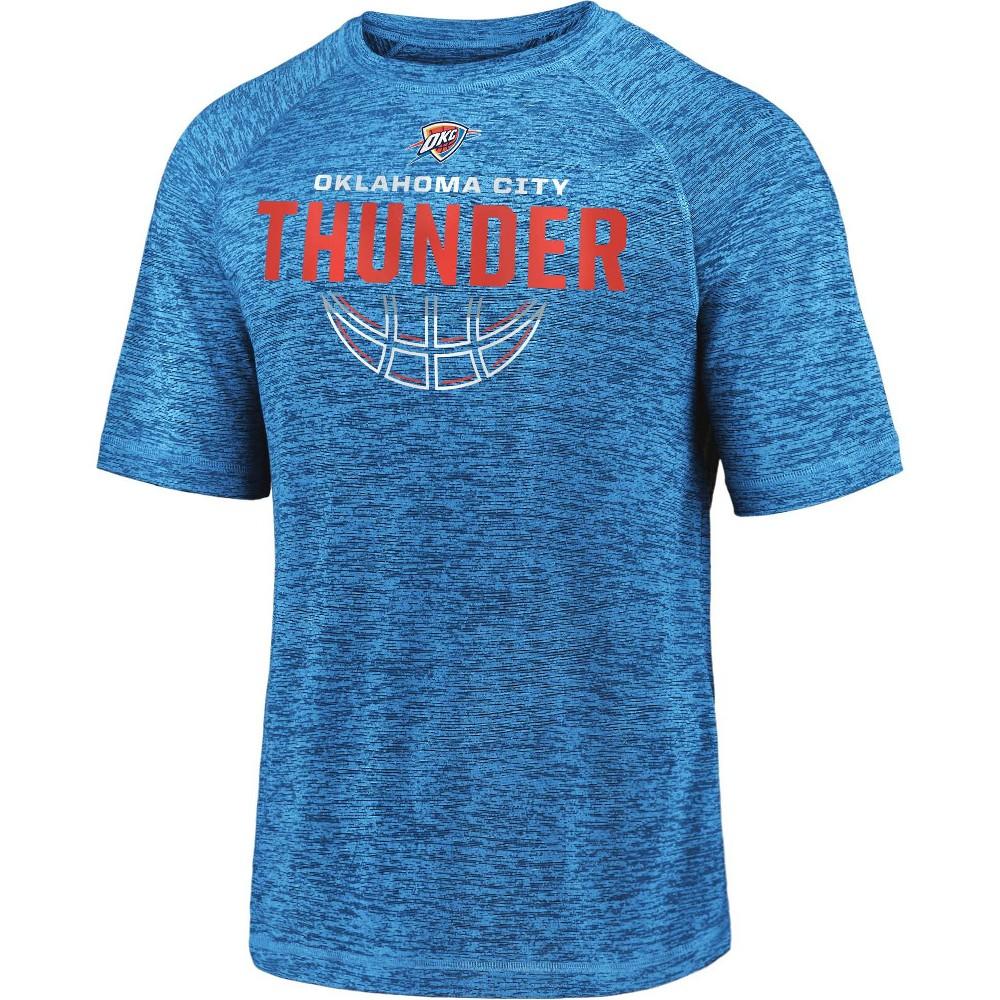 Nba Oklahoma City Thunder Men 39 S Synthetic Short Sleeve T Shirt M