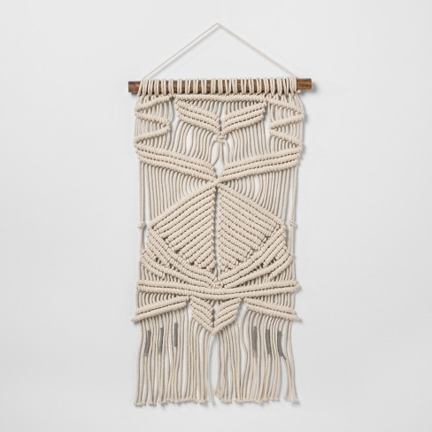 Woven Cotton Macrame Wall Tapestries Opalhouse Target