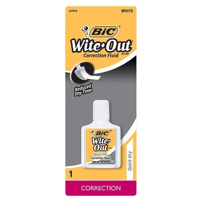 BIC Wite-Out Correction Fluid, 0.7oz