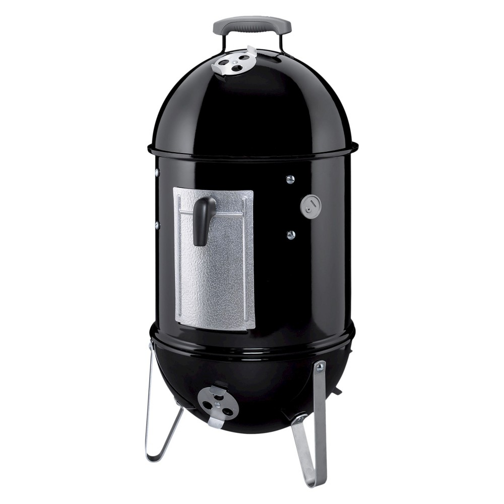 Weber 14 Smokey 711001 Mountain Cooker Smoker, Black