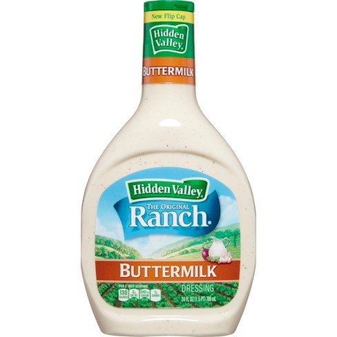 Hidden Valley Buttermilk Ranch Salad Dressing & Topping - Gluten Free - 24oz Bottle - image 1 of 5