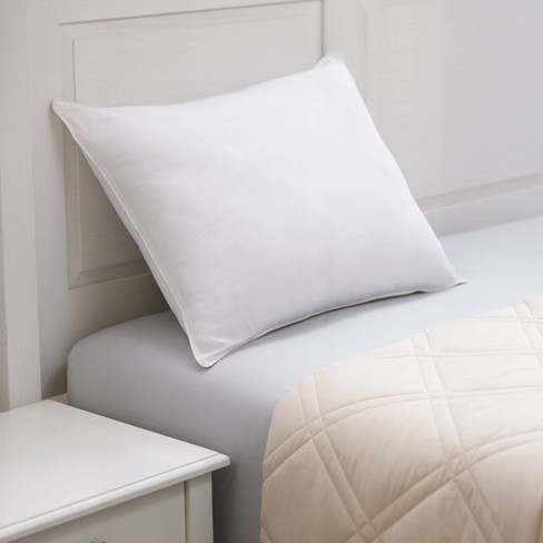 Chamomile Infused Microfiber Bed Pillow - Allied Home - image 1 of 4