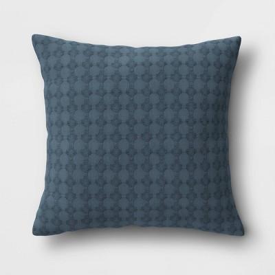 "18""x18"" Square Waffle Throw Pillow - Threshold™"
