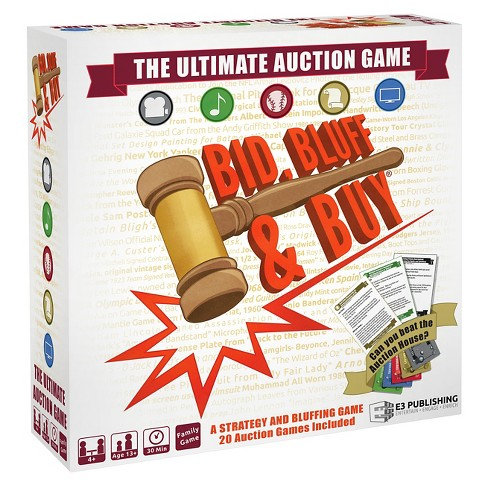 Bid, Bluff & Buy Strategy Game - image 1 of 2