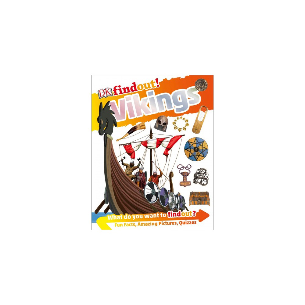 Dk Findout! Vikings - (DK Find Out!) (Hardcover)