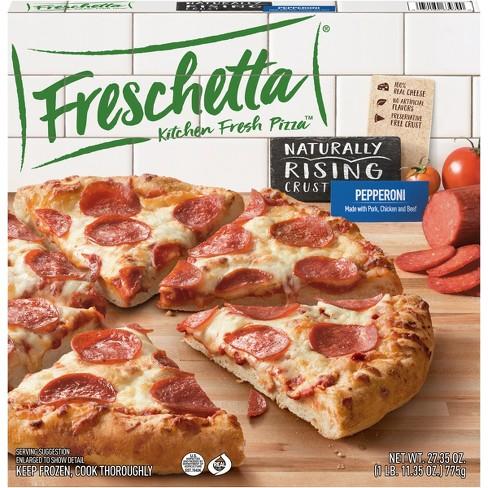 Freschetta Natural Rising Signature Pepperoni Frozen Pizza - 27.35oz - image 1 of 4