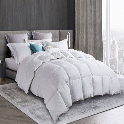 Goose Down & Feather Comforter White - Martha Stewart