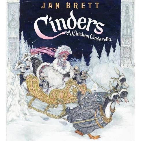 Cinders - by  Jan Brett (Hardcover) - image 1 of 1
