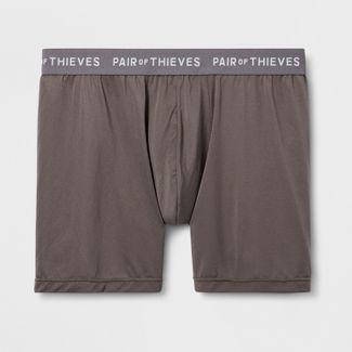 Pair of Thieves Men's UltraLight Boxer Briefs - Brown L