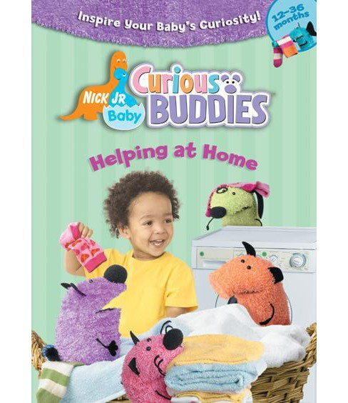 Nick Jr Baby Curious Buddies:Helping (DVD) - image 1 of 1