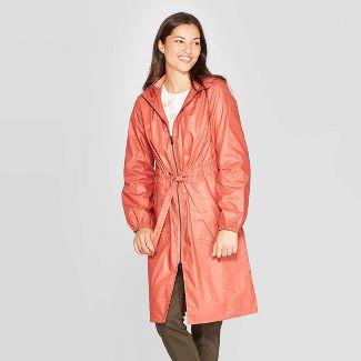Women's Rain Anorak Jacket - A New Day™ Colorado Rust XS