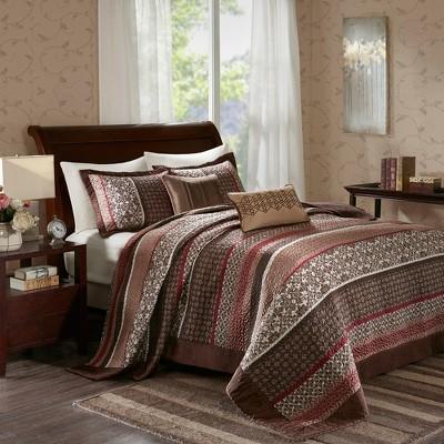 Cambridge Jacquard Bedspread Set 5pc
