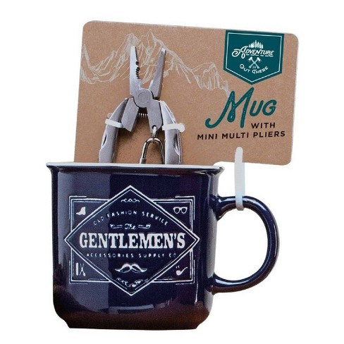 Adventure is Out There Mug with Mini Multi Pliers - Blue - image 1 of 4