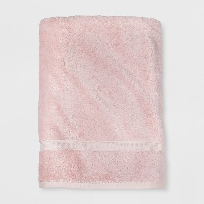 Soft Solid Bath Sheet Peach - Opalhouse™