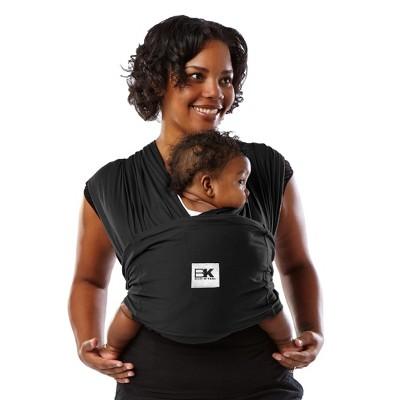 Baby K'tan ORIGINAL Baby Carrier, Black, Small