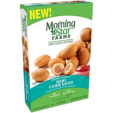 Morningstar Farms Frozen Mini Corn Dogs - 8.4oz