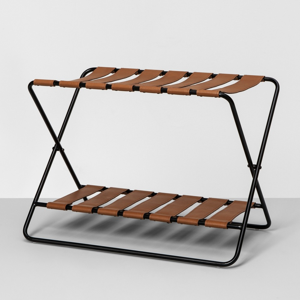Foldable Luggage Rack - Black - Hearth & Hand with Magnolia