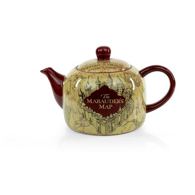 Seven20 Harry Potter Marauder's Map Teapot | Decorative Collectible | 40-Ounce Capacity