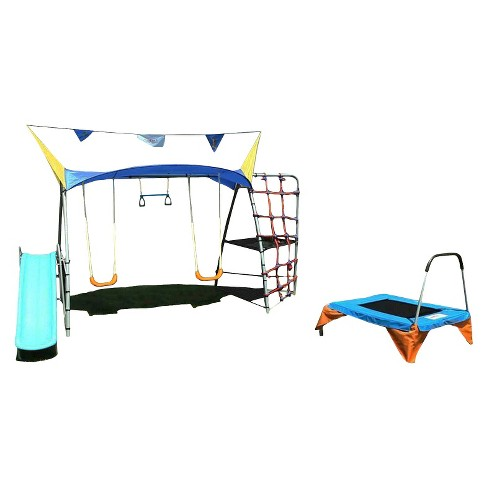 IronKids Premier 550 Fitness Swing Set - image 1 of 7