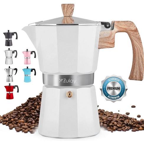 Classic Stovetop Espresso Maker Italian Style Moka Pot percolator for Espresso, Strong Coffee & Cuban Coffee - image 1 of 4