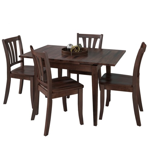 CorLiving Dining Table Set Cappucino - image 1 of 10